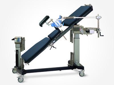 """Supports opératoires 61 MTS - Pied de table """"T"""" modulaire - Materiel medical"""