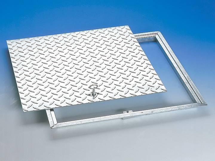 RG steel galvanised Solid-top, non sealed covers - Solid-top, non sealed covers