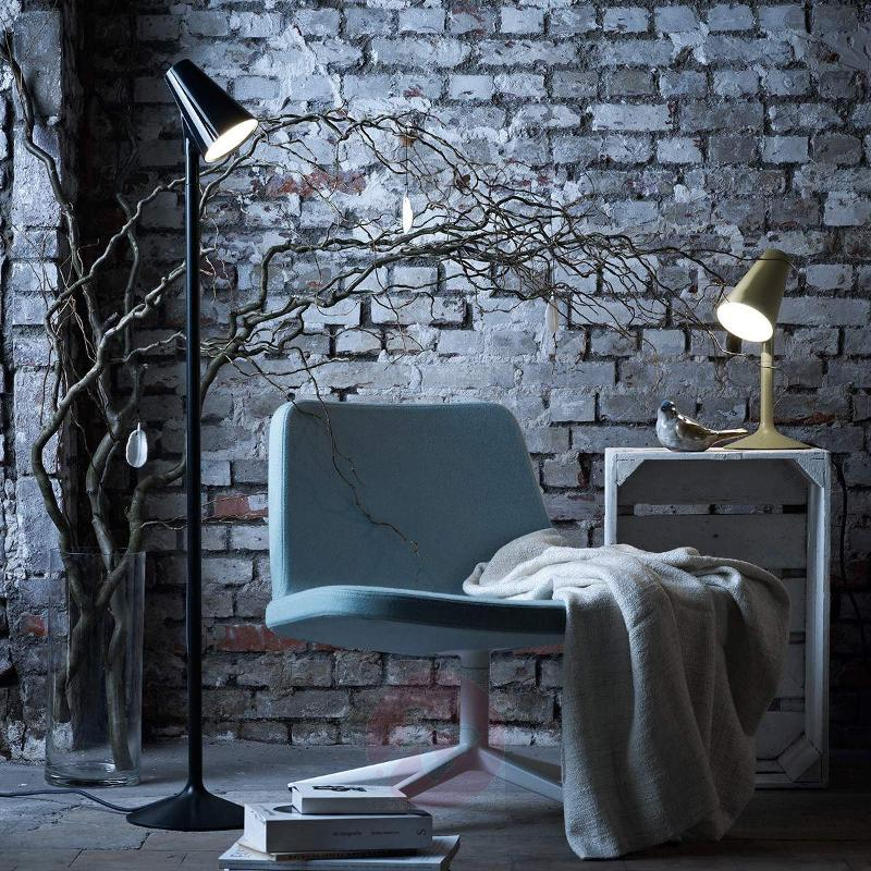 Designer floor lamp Piculet with LEDs, black - Floor Lamps