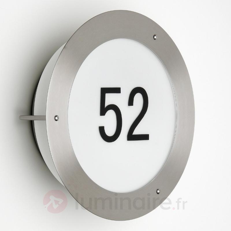 Luminaire avec numéro de maison Nevadi I - Numéros de maison lumineux