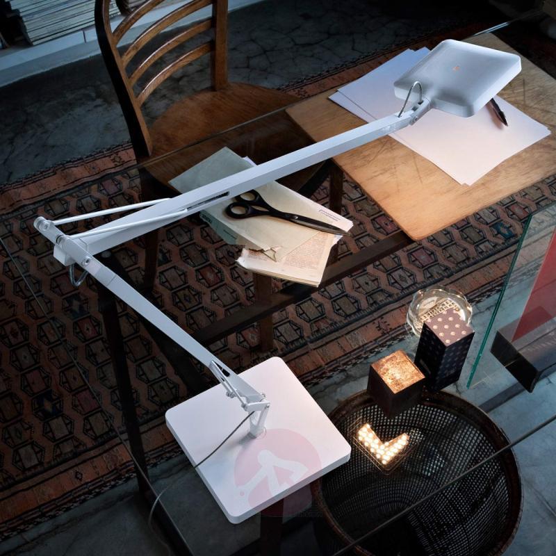 White LED table lamp Kelvin Edge - indoor-lighting