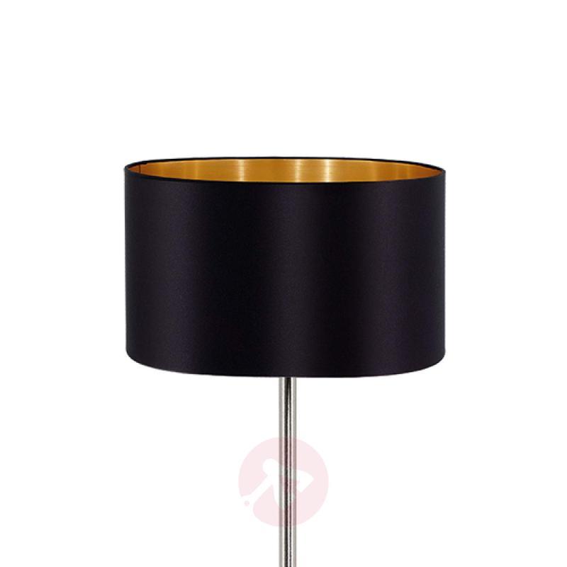 Elegant fabric floor lamp Maserlo - indoor-lighting