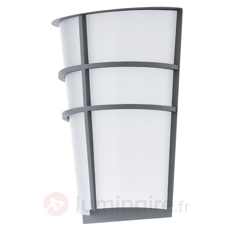 Applique extérieure argenté LED Breganzo - Appliques d'extérieur LED