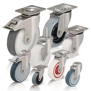 Stainless steel castors - null