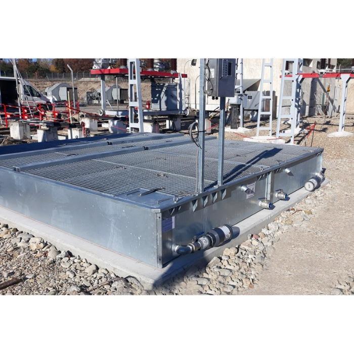 Filtre à eau capteur d'hydrocarbure  -