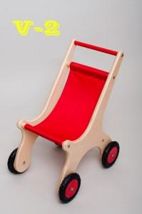Wooden carriages V-1 - Wooden Toy