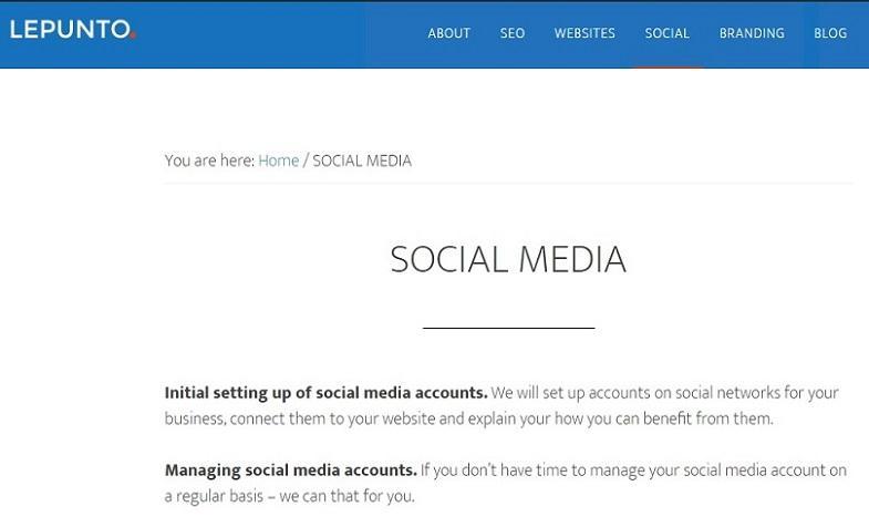 Redes Sociales - Presencia de empresas en las redes sociales