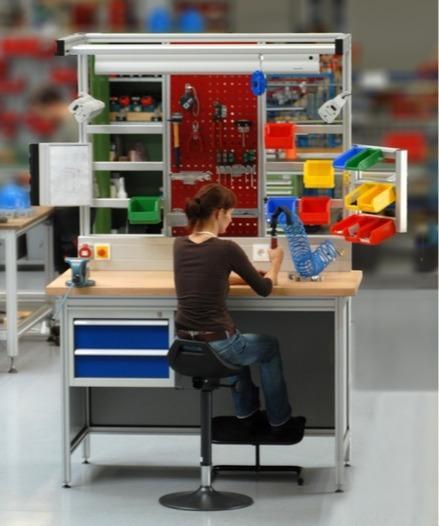 Yüksekliği ayarlanabilir iş istasyonu sistemleri/çalışma tez -