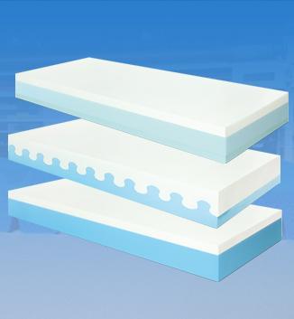 Lastre materassi poliretaniche, memory e lattice - Produzione di lastre e cuscini materassi in materiali traspiranti