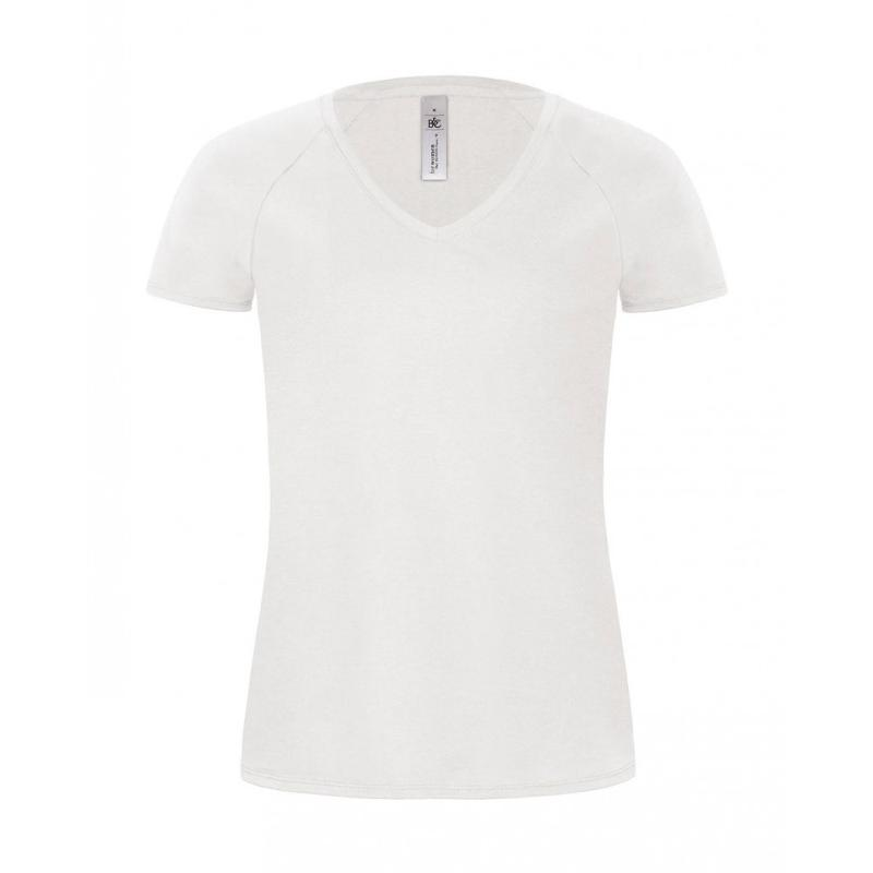 Tee-shirt Classic femme col V - Manches courtes