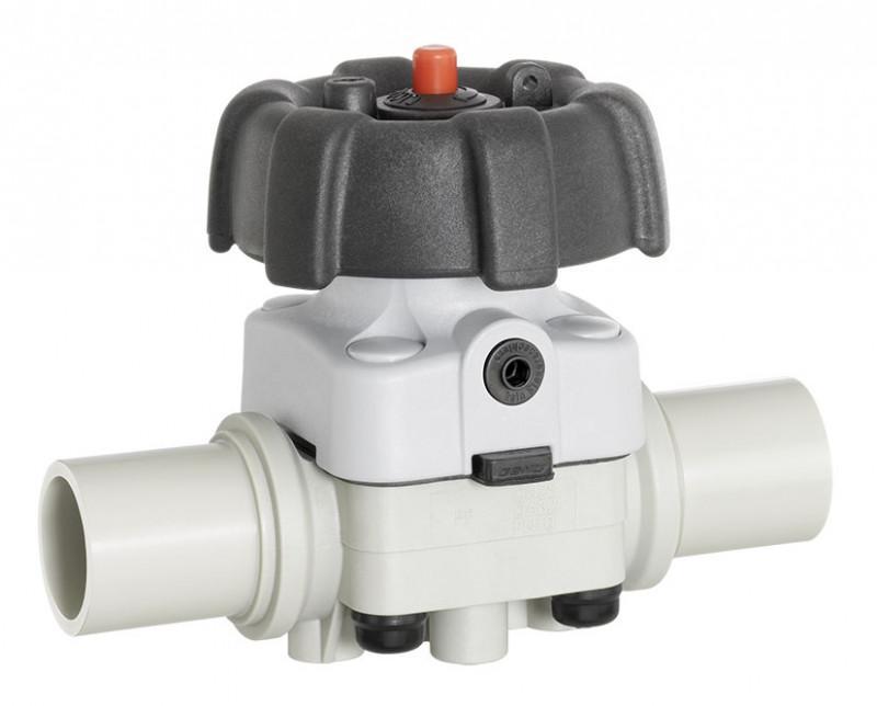 GEMÜ R677 - Válvula de diafragma de acionamento manual