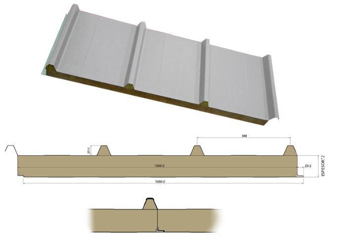 panel ignifugo - panel ignifugo, panel acustico, panel lana de roca