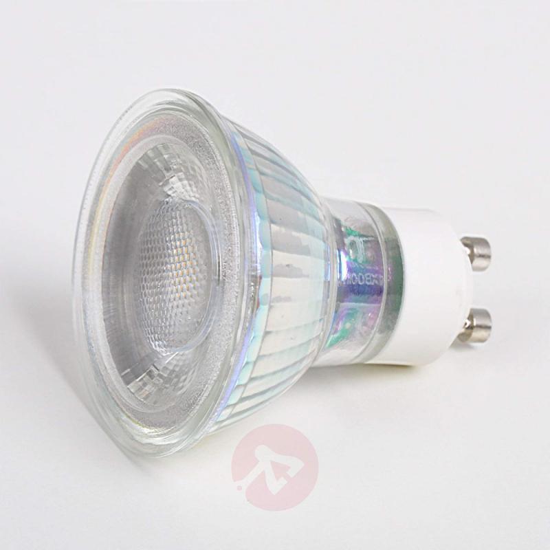 GU10 5 W LED reflector bulb 33° - light-bulbs