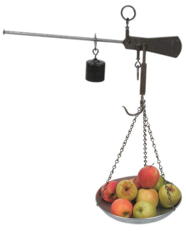 Balance Romaine À Plateau - Pesage, mesures et thermomètres