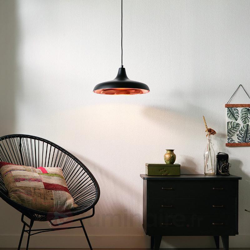 suspension surrey noir cuivre cuisine et salle manger luminaire fr allemagne. Black Bedroom Furniture Sets. Home Design Ideas