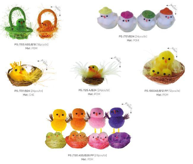 Easter chicks  - Decoration items