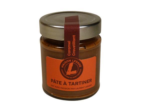 Pâtes À Tartiner - Caramel Croustillant - Pot en Verre de 220 g
