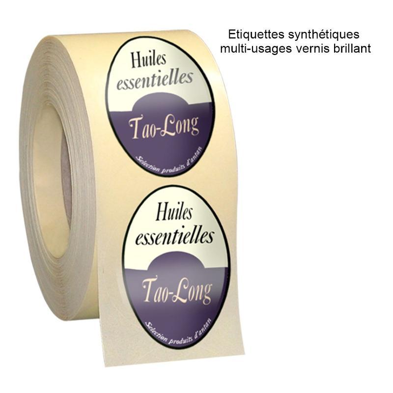 Etiquettes synthétiques multi-usages - Etiquettes personnalisées multi-usages et synthétiques
