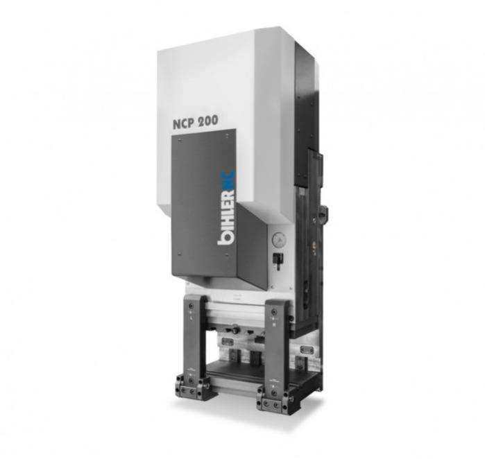 Servo presses - NCP - Compact servo presses NCP for precise cutting and punching of metal strips