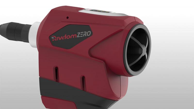 Battery Riveter RivdomZERO 12V - Battery-powered riveter for blind rivets up to 5.0 mm diameter - all materials