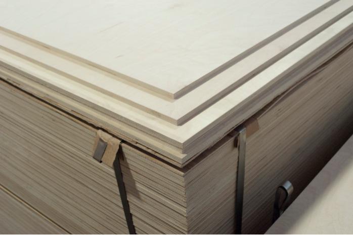 Birch plywood  - Grade is  BB/С, 10 mm