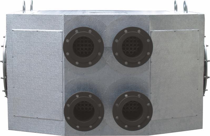 Abgaswärmetauscher ECO Stand-Alone - Abgaswärmetauscher für Heißwasserkessel