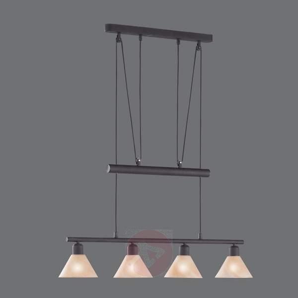 Height-adjustable hanging light Zug - Pendant Lighting