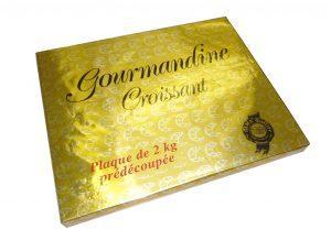 Margarines de feuilletage ou croissant Gourmandine  - Format disponible : plaques 2kg
