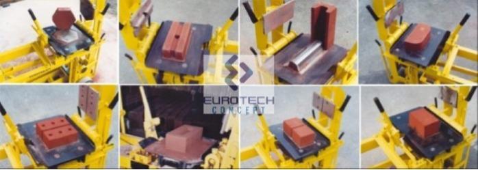 Presse à briques multifonction APT02-ET -