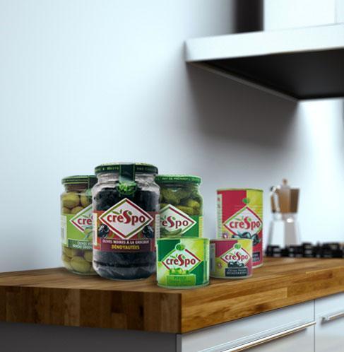 Olives Vertes - Boîtes Cuisine & Apéritif