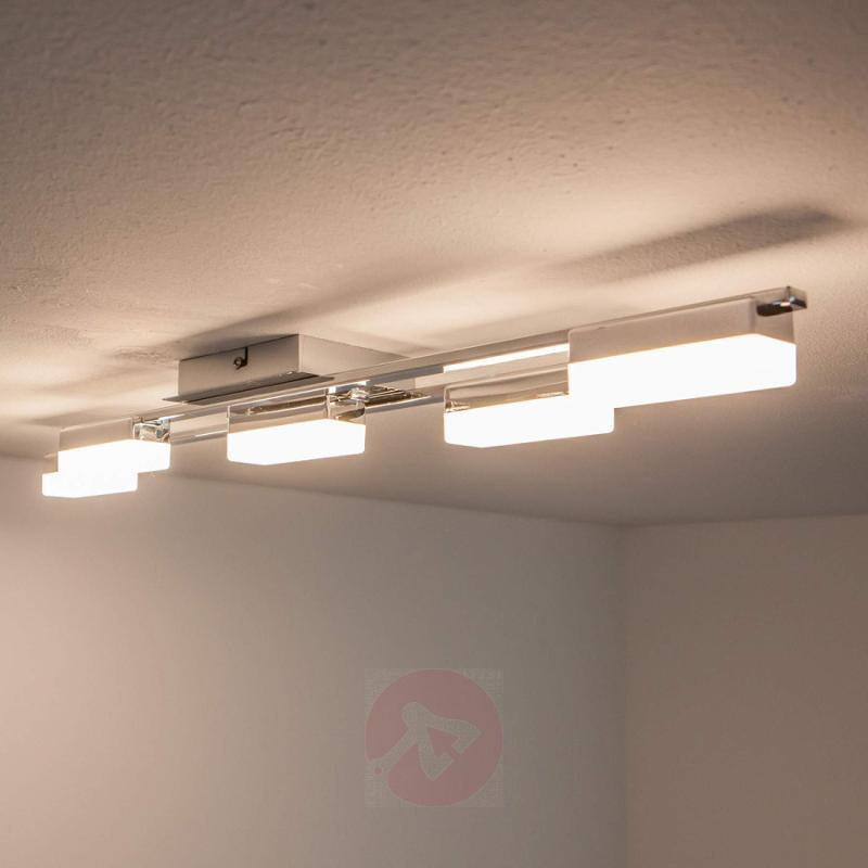 5-bulb Lukretia LED ceiling light - indoor-lighting