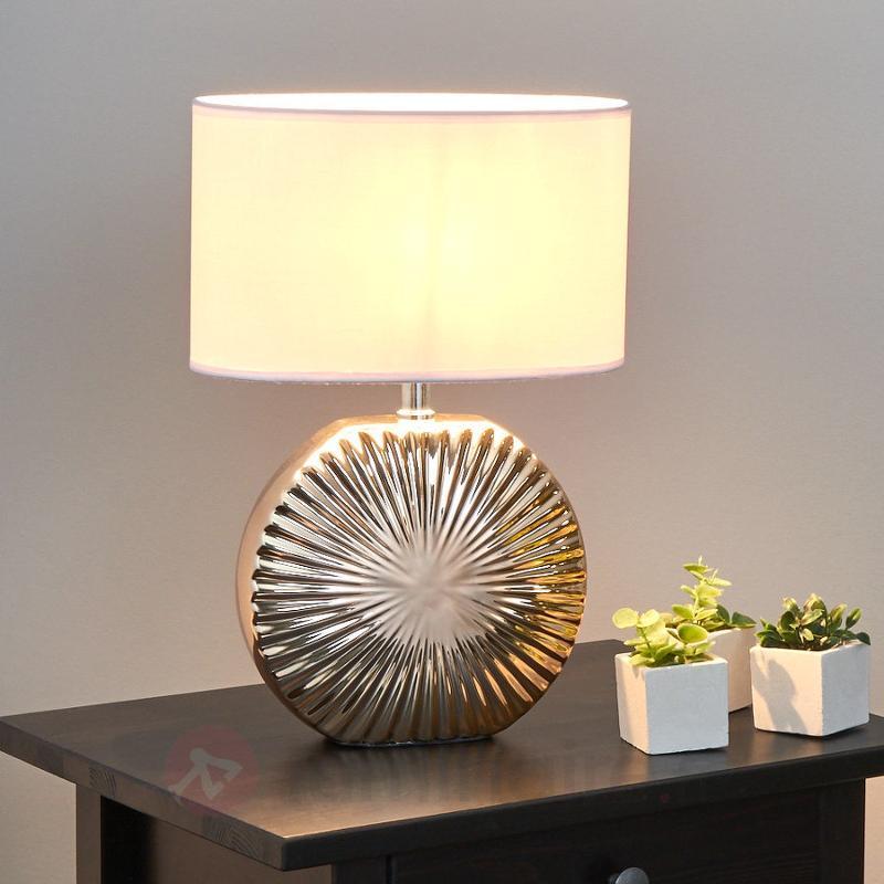 Belle lampe à poser en céramique Shot - Lampes à poser pour rebord de fenêtre