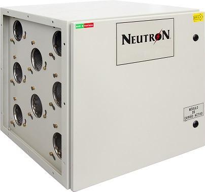 NEUTRON Módulo Carvão Activado/NEUTRON Module Actived Carbon - Módulo equipado com cartuchos de carvão activado