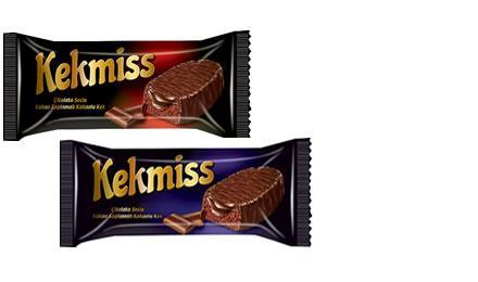 Kekmiss - Kekmiss Cocoa Coated Cake Filled Chocolate Cream