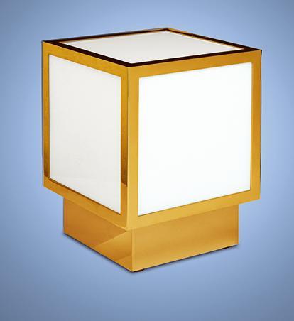 Бронзовый кубический светильник - Модель 575