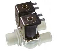 Servo-controlled solenoid valve NC, DN 13 - 01.013.225