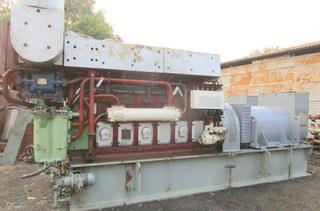 MaK 6M20 Engine