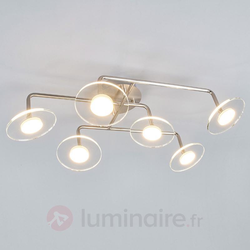 Extravagant plafonnier pour cuisine Tiam à 6 lamp. - Plafonniers LED
