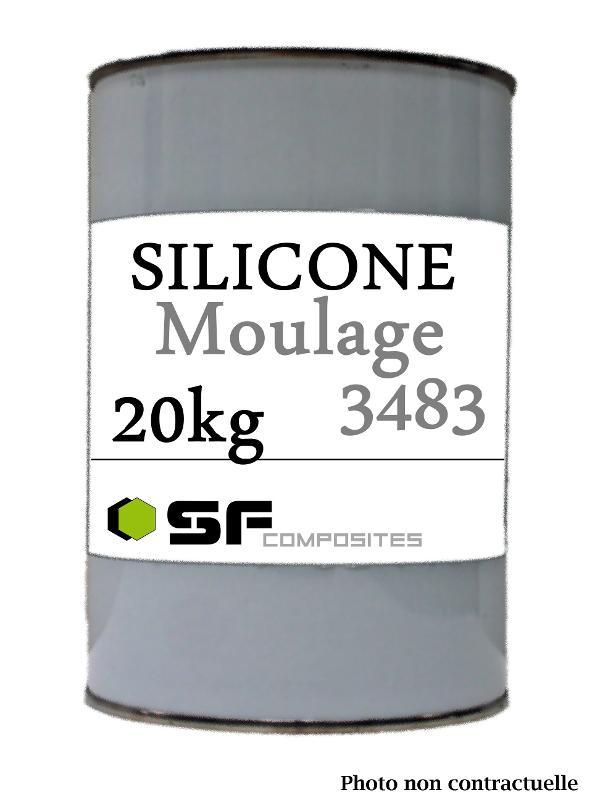 SILICONE 3483 20KG BASE K - Produits pour le moulage Silicones