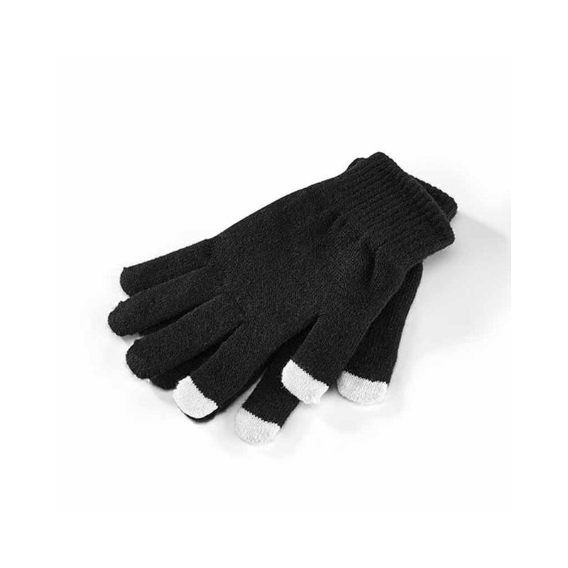 Gants noir maille synthétique - Gants