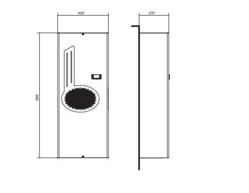 Ego16 Condizionatori Per Montaggio A Porta O Parete - LINEA CLIMATIZZAZIONE