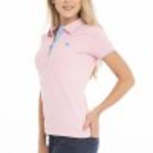 Damen Short Sleeve Polo - null