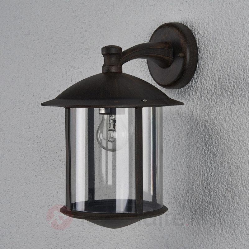 Applique d'extérieur LED Maelis aspect rouillé - Toutes les appliques d'extérieur