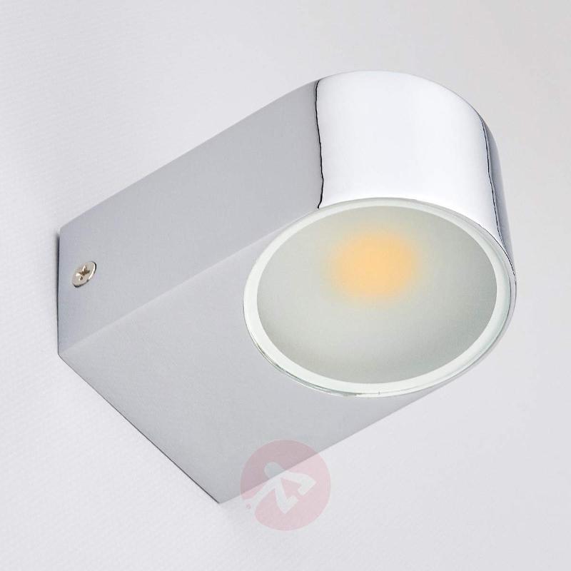 Marielle LED Bathroom Wall Light Chrome - Wall Lights