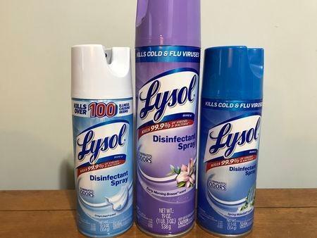 Lysol Disinfectant Spray, Crisp Linen, 38oz - Lysol Disinfectant Spray, Crisp Linen, 38oz