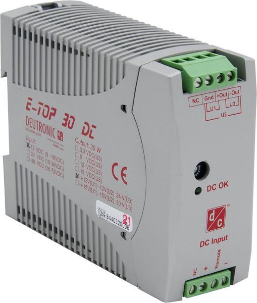E-TOP30DC 30 Watt - TS35