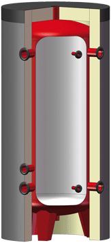 Réservoirs tampon pour eau de chauffage  - série PRIMAPACK