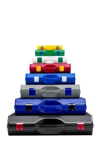 SPI kunststofkofferreeks - 8 standaardkoffers in 9 kleuren