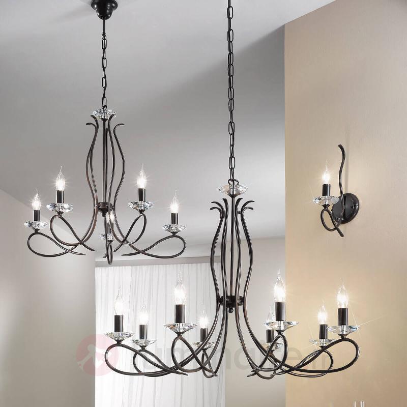 Lustre à 5 lampes Novella - Lustres rustiques
