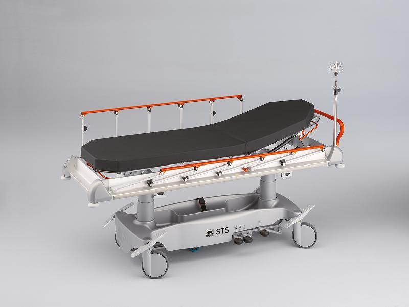 Patient Stretcher for Emergencies and Outpatient Depts